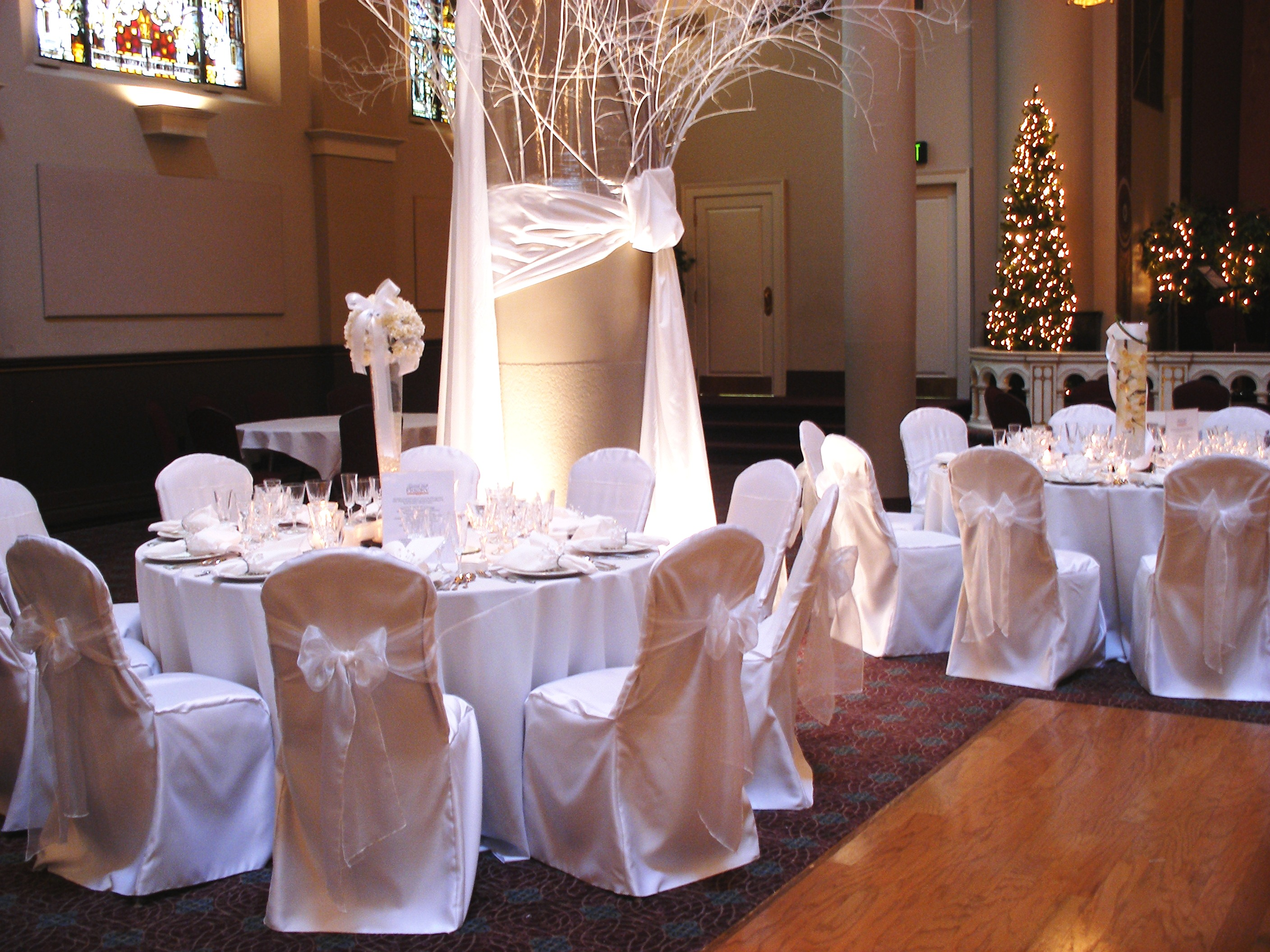 Romantic Decoration Chair Covers